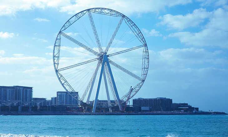 Tallest Ferris Wheel at Ain Dubai