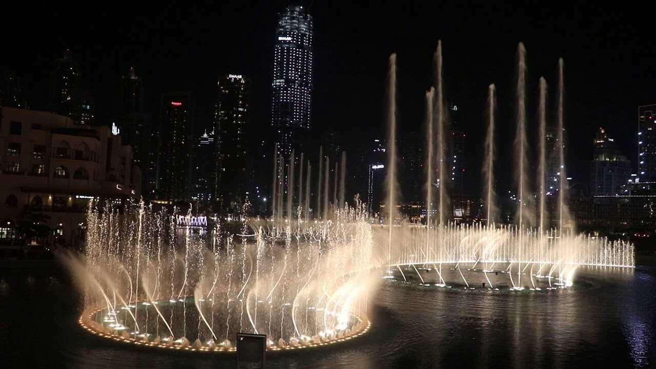 Wonder at Dubai Mall Fountains