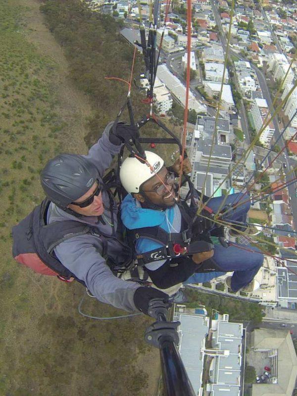 Paragliding - Cape Town, SA